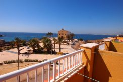 FRONTLINE HOUSE 2B 2BATH - 3 TERRACES SEA VIEWS CENTER ISLA PLANA