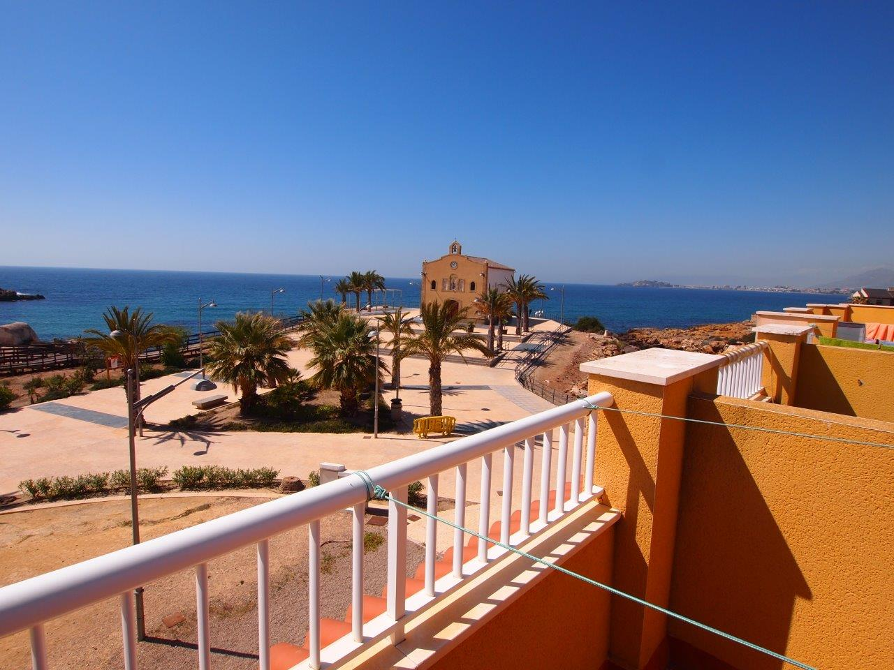 299. FRONTLINE HOUSE 2B 2BATH – 3 TERRACES SEA VIEWS  CENTER ISLA PLANA VILLAGE