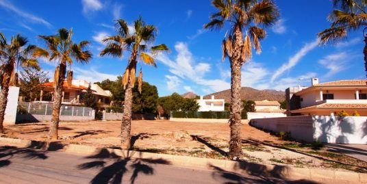 157. URBAN PLOT SECOND LINE 1.000 M2 SAN GINES LA AZOHIA
