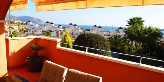 1202. SUPERB APARTMENT GROUND FLOORSEA VIEWS AND SOUTH FACING, GARDEN AND LARGE TERRACE POOL