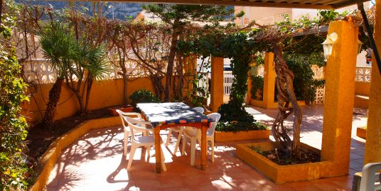 2202. HOUSE 3 BEDS – 3 BATH – GARDEN 50M2 – GARAJE – 2MIN ON BEACH – LA AZOHIA