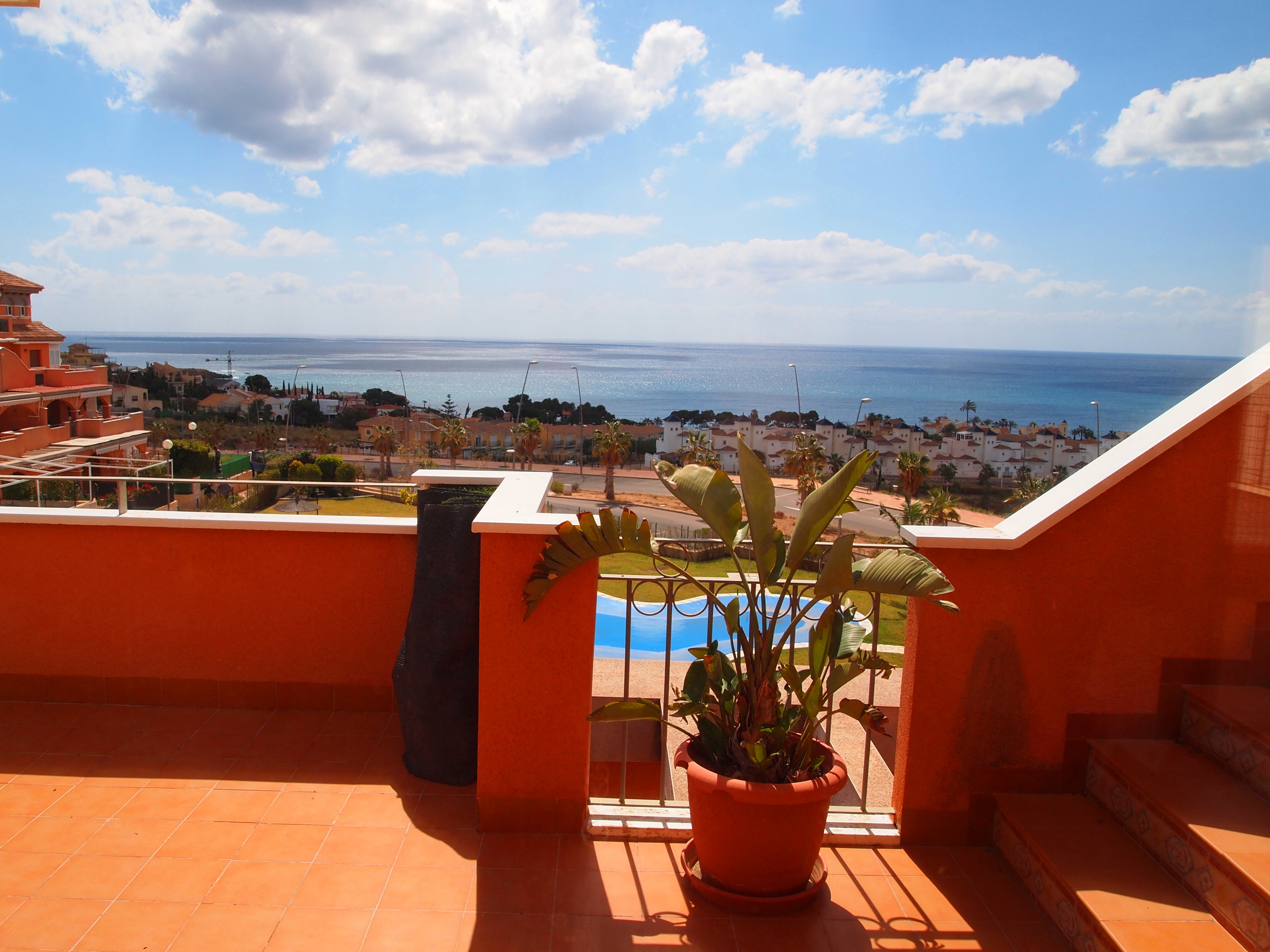 1207. PLENTY SEA VIEWS PENTHOUSE LARGE TERRACE AND SOLARIUM