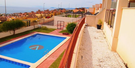 1215. BEAUTIFUL APARTMENT 2 BEDROOMS GROUND FLOOR WITH A BIG TERRACE AND POOL – Isla Plana